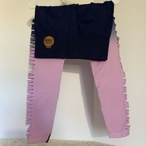Victoria's Secret pink leggings Medium